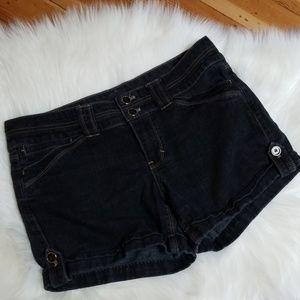 White House black market black jean shorts